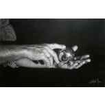 '' SIMPLE MAN ''    Hands & sphere.